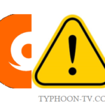Typhoon TV not working